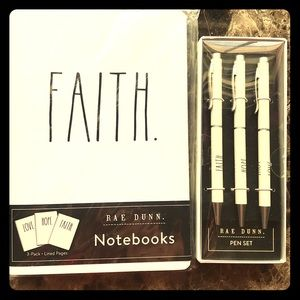 RD Love, Hope, Faith Notebooks & Pens